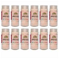 Himalayan Chef Pink Salt, Certified Pure Gourmet Cooking Salt, 17.5 Oz Glass Shaker – 12 Pack - 12 count