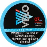 Velo Max Nicotine Pouches - Spearmint - 20 ct