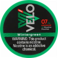 Velo Max Nicotine Pouches - Wintergreen - 20 ct