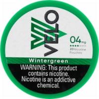 Velo Nicotine Pouches - Wintergreen - 20 ct