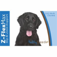 Healthy Breeds 840235107019 Flat Coated Retriever Z-Flex Max Hip & Joint Soft Chews - 100 cou - 100