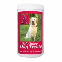 GameWear 840235138723 7 oz MLB Anaheim Angels Soft Chewy Dog Treats - 1