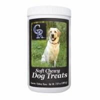 GameWear 840235138815 7 oz MLB Colorado Rockies Soft Chewy Dog Treats - 1