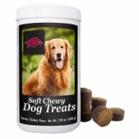 GameWear 840235139331 7 oz NCAA Arkansas Razorbacks Soft Chewy Dog Treats - 1