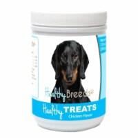 Healthy Breeds 840235155225 Dachshund Healthy Soft Chewy Dog Treats, 7 oz - 1