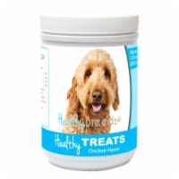 Healthy Breeds 840235155317 Goldendoodle Healthy Soft Chewy Dog Treats - 1