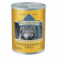 Blue Wilderness Turkey & Chicken Grill Healthy Weight Wet Dog Food