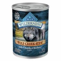 Blue Wilderness Wolf Creek Stew with Chicken Wet Dog Food - 12.5 oz