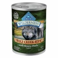Blue Wilderness Wolf Creek Stew with Duck Wet Dog Food