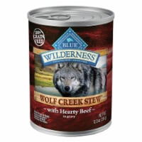 Blue Wilderness Wolf Creek Hearty Beef Stew Wet Dog Food