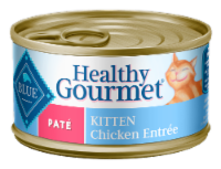 Blue Buffalo Healthy Gourmet Kitten Chicken Pate Wet Cat Food