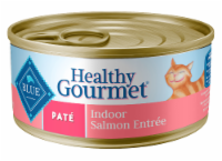Blue Buffalo Healthy Gourmet Salmon Pate Entree Indoor Adult Cat Food