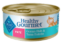 Blue Buffalo Healthy Gourmet Pate Ocean Fish & Tuna Entree Cat Food