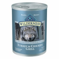Blue Wilderness Turkey & Chicken Grill Wet Dog Food