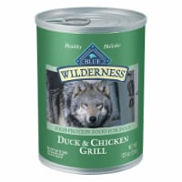 Blue Wilderness Duck & Chicken Grill Wet Dog Food