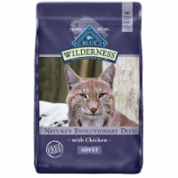 Blue Wilderness Nature's Evolutionary Diet with Chicken Adult Dry Cat Food