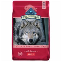 Blue Wilderness Nature's Evolutionary Diet with Salmon Adult Dry Dog Food - 24 lb