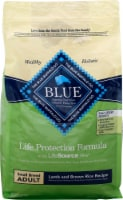 Blue Buffalo Life Protection Formula Small Breed Adult Lamb and Brown Rice Recipe Dry Dog Food