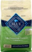 Blue Buffalo Life Protection Formula Small Breed Adult Lamb and Brown Rice Recipe Dry Dog Food