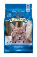 Blue Buffalo Blue Wilderness Indoor Chicken Dry Cat Food Grain Free 5 lb. - Case Of: 1;