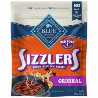 Blue Buffalo Sizzlers Cheddar Bacon Style Dog Treats