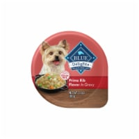Blue Buffalo Divine Delights Small Breed Dog Food Natural Prime Rib Flavor In Gravy