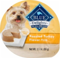 Blue Buffalo Delights Roasted Turkey Flavor Pate Small Breed Dog Food