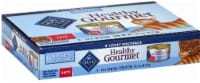 Blue Buffalo Healthy Gourmet Pate Wet Cat Food Multipack