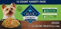 Blue Buffalo Divine Delights New York Strip & Filet Mignon Flavored Pate Variety Pack