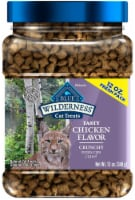 Blue Buffalo Wilderness Tasty Chicken Flavor Crunchy Cat Treats
