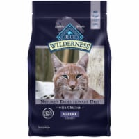 Blue Wilderness Nature's Evolutionary Diet Chicken Mature Dry Cat Food