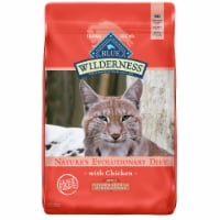 Blue Buffalo Wilderness Chicken Indoor Hairball & Weight Control Adult Dry Cat Food