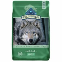 Blue Wilderness Nature's Evolutionary Diet Adult Dry Dog Food with Duck