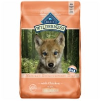 Blue Wilderness Nature's Evolutionary Diet Large Breed Puppy Dry Dog Food with Chicken
