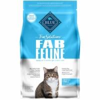 Blue Buffalo True Solution Fab Feline Chicken Natural Indoor Adult Dry Cat Food - 3.5 lb