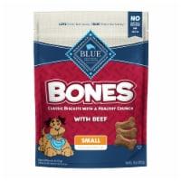 BLUE Bones Beef Small Dog Biscuits