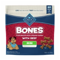 Blue Buffalo Bones Beef Flavored Mini Dog Biscuits