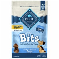 Blue Buffalo Bits Tasty Chicken Recipe Soft Moist Dog Training Treats
