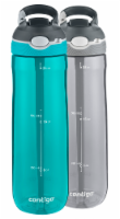 Contigo Autospout® Ashland Water Bottles - Twin Pack - Scuba/Smoke