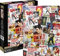 Elvis Presley Movie Poster Collage 1000 Piece Jigsaw Puzzle - 1 Each