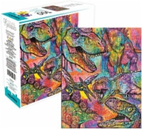 Dean Russo Dinosaurs 500 Piece Jigsaw Puzzle