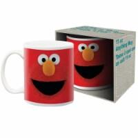 Sesame Street 802427 11 oz Sesame Street Elmo Big Face Mug - 1
