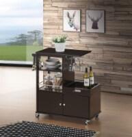 Hadar - Kitchen Cart Wenge - 1