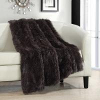 Alaska Shaggy Supersoft Faux Fur Throw Blanket - 1 unit