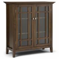 Simpli Home Bedford Medium Brown Storage Cabinet - 1 ct