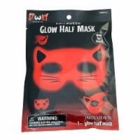 Glow Cat Half Mask