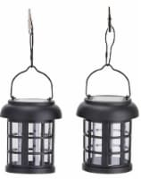 Smart Solar 3782WRM2 Umbrella Hanging Solar Lantern 2-pack