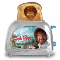 Uncanny Brands Bob Ross Toaster - Toasts Bob's Iconic Face onto Your Toast - 1 unit