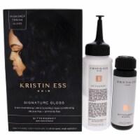 Kristin Ess Signature Hair Gloss  Bittersweet  Dark Neutral Brown Hair Color 1 Application