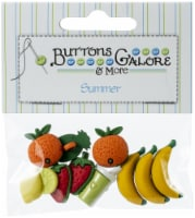 Buttons Galore Button Theme Pack-Fruit Smoothie - 1